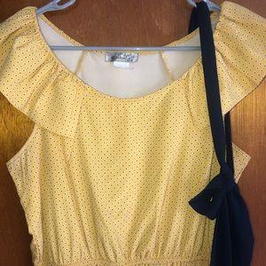 Daffodil Yellow Francesca's Dress